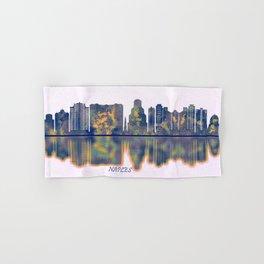 Naples USA Skyline Hand & Bath Towel