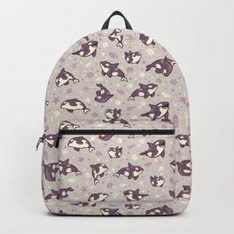 Jelly bean orcas Backpack