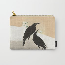 Crows from Koson Carry-All Pouch