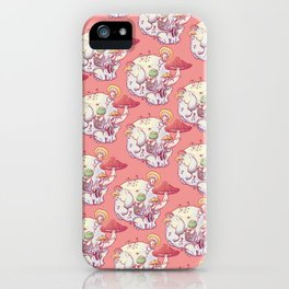 Skull No.1 // The Mushrooms One iPhone Case