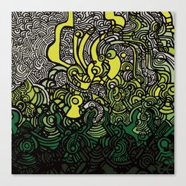 DEPTH-CHARGE Canvas Print