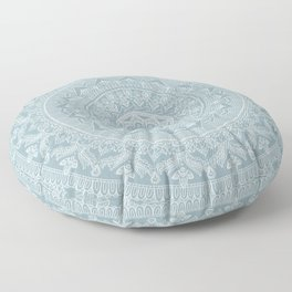 Mandala - Soft turquoise Floor Pillow