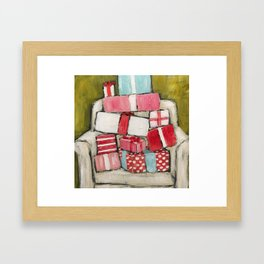 Pile of Presents by Trish Jones Framed Art Print