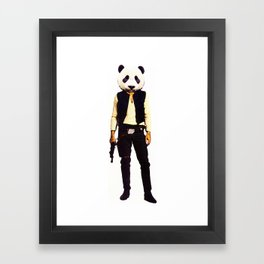 Pan Solo Framed Art Print
