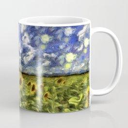 Summer Sunflowers Van Gogh Coffee Mug
