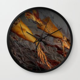 Mars' Arbor Wall Clock