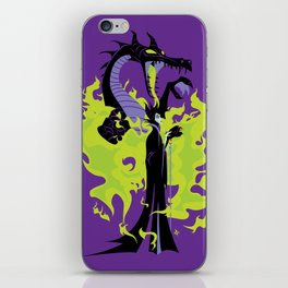 Maleficent Mistress of All Evil iPhone Skin