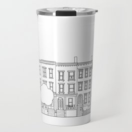 blocks of Brooklyn Travel Mug