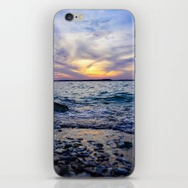 Lake Waco at Sunset iPhone Skin