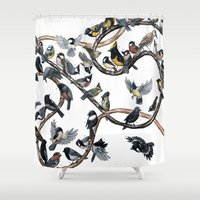 tits Shower Curtains featuring Tits of the World by Jada Fitch