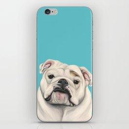 Sweet Little English Bulldog iPhone Skin