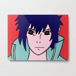 Sasuke sharingan Metal Print