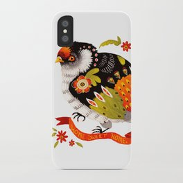 Home Sweet Home Bird iPhone Case