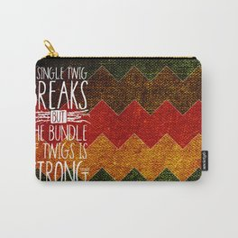 Tecumseh Quote Carry-All Pouch