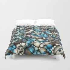 Macro Shapes Abstract Duvet Cover