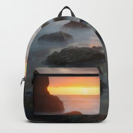 Sunset Near Pewetole Island Backpack