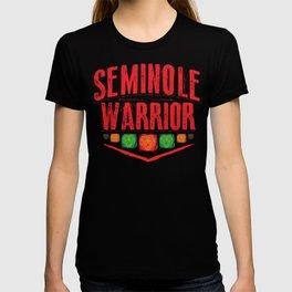 Seminole warrior T-shirt