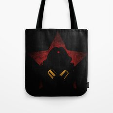 SuperHeroes Shadows : WonderWoman Tote Bag