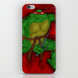 Raphael iPhone Skin