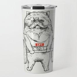 Cat Lift Travel Mug