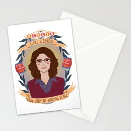 Liz Lemon Stationery Cards