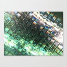 Rainbow pixels Canvas Print