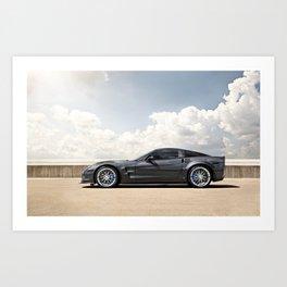 Corvette ZR1 Art Print