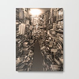 Book Store Metal Print