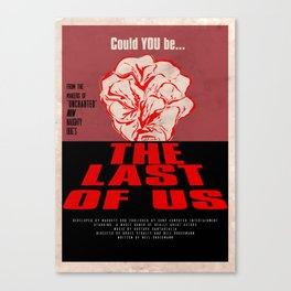 Dawn of The Last of Us Canvas Print