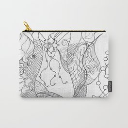 Two mermaids, many pearls Carry-All Pouch