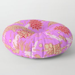 Warm Flower Floor Pillow