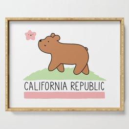 Kawaii California Republic Serving Tray