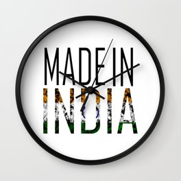 Made In India Wall Clock
