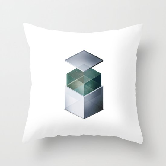 Sinatra Empty Throw Pillow