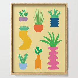 Plant Party Serving Tray