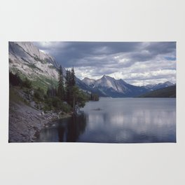 Medicine Lake Alberta Rug