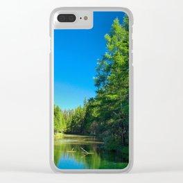 Kitch-iti-kipi (Big Spring) Clear iPhone Case