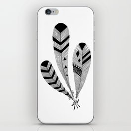 Bound Feathers iPhone Skin