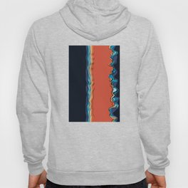 Fire goddess kisses the ocean Hoody