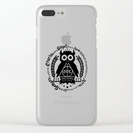Learn Your Spells Clear iPhone Case