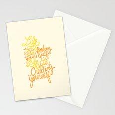 George Bernard Shaw (Orange) Stationery Cards