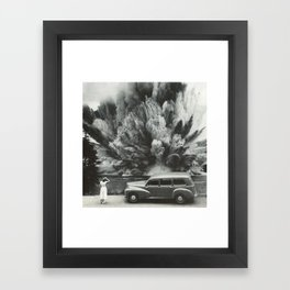 Unexpected Scenery Framed Art Print