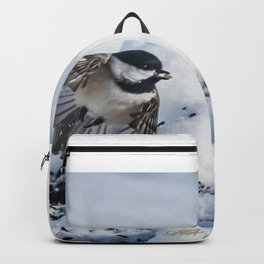 Christmas Chickadee Backpack