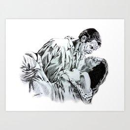 Gone With The Wind Jardez Art Print