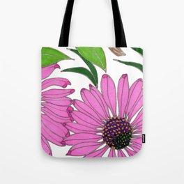 Echinacea by Mali Vargas Tote Bag
