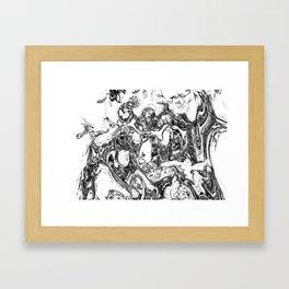 splashland hom Framed Art Print
