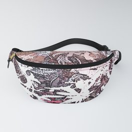 Frosty Transformation to Winter - An abstracted impression Fanny Pack