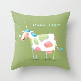 Moonicorn Throw Pillow