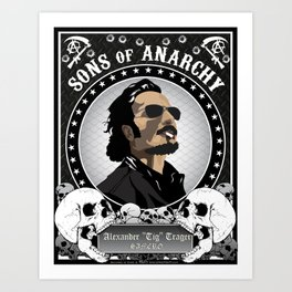 Sons of Anarchy Series Art Print