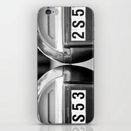 Meters iPhone Skin